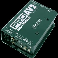 Radial DI passive multimédia stéréo PRO-AV2 - Vue 1