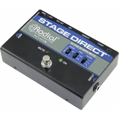 Radial DI pédale instrument Stage Direct - Vue 1