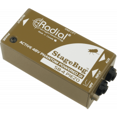 Radial DI pour micro piézo SB-4 Piezo - Vue 1