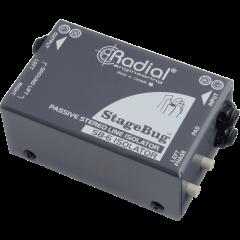 Radial Isolateur de ligne stéréo SB-6 Isolator - Vue 1
