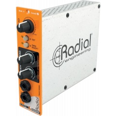 Radial Interface d'effets guitare format 500 EXTC - Vue 1
