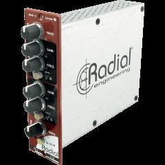 Radial Egaliseur 4 bandes semi-paramétrique format 500 Q4 - Vue 1