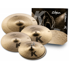 """Zildjian Pack K Custom dark 14""""-16""""-18""""-20"""" - Vue 1"""