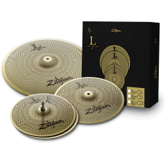 "Zildjian Pack Low Volume 13""-14""-18"" - Vue 1"
