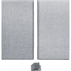 Primacoustic 2 bass trap gris - Vue 1