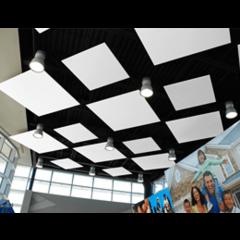 Primacoustic 2 panneaux de plafond carrés à peindre 120 x 120 x 3,8 cm - Vue 1