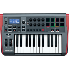 Novation Impulse 25 - Vue 1