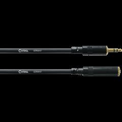 Cordial Câble audio stéréo minijack mâle/minijack femelle 3 m - Vue 1