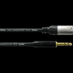 Cordial Câble audio XLR mâle/jack mâle stéréo 1,5 m - Vue 1