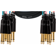 Cordial Multipaire 8 jack mono/8 jack mono 3 m - Vue 1