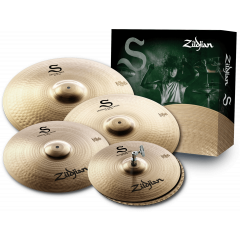 """Zildjian Pack S Performer 14""""-16""""-18""""-20"""" - Vue 1"""