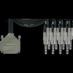 Cordial Câble d'interface Sub-D/8 jack stéréo - 1,5 m - Vue 1