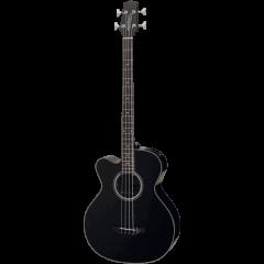 Takamine GB30CELH-BLK black gaucher - Vue 1