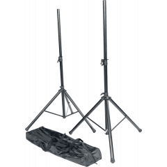 Rtx Pack 2 stand enceintes métal + sac de transport noir - Vue 1