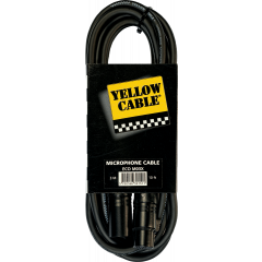 Yellow Cable Cordon xlr xlr fem. 3 m - Vue 1
