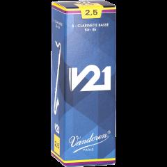 Vandoren Anches clarinette basse V21 force 2,5 - Vue 1