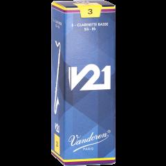 Vandoren Anches clarinette basse V21 force 3 - Vue 1