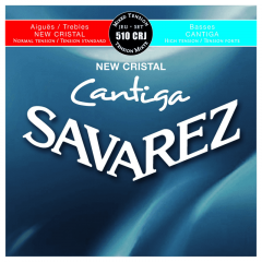 Savarez 510CRJ New Cristal Cantiga Rouge-Bleu - Vue 1
