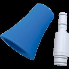 Nuvo Kit bocal et pavillon droit pour jSax blanc et bleu - Vue 1