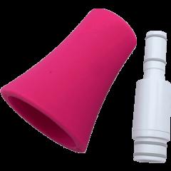 Nuvo Kit bocal et pavillon droit pour jSax blanc et rose - Vue 1