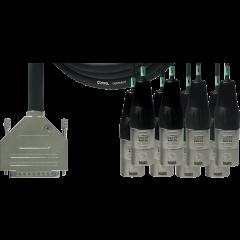 Cordial Câble interface sub-D/8 XLR mâles 3 m - Vue 1