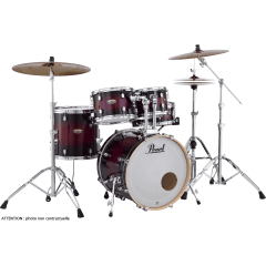 "Pearl Decade maple fusion 20"" gloss deep red burst - Vue 1"