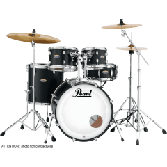 "Pearl Decade maple rock 22"" satin slate black - Vue 1"