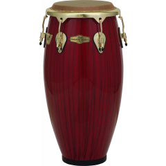 "Pearl Conga Havana Quiton 11"" big belly red tiger stripe - Vue 1"