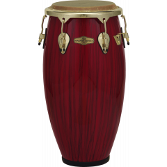 "Pearl Conga Havana 11"" 3/4 big belly red triger striê - Vue 1"