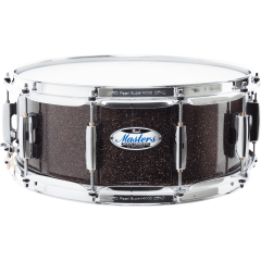 "Pearl Master maple complete 14"" x 5,5"" burnished bronze sparkle - Vue 1"