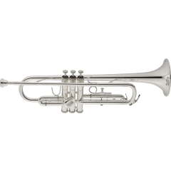 Jupiter Trompette Sib étudiant plaquée argent JTR500SQ - Vue 1