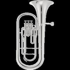 Jupiter Saxhorn baryton argenté - Vue 1