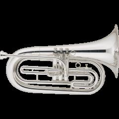 Jupiter Saxhorn baryton de défilé nickelé JBR1000MN - Vue 1
