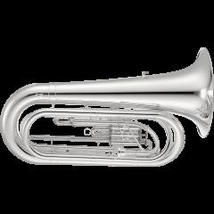 Jupiter Tuba de défilé nickelé JTU1030MN - Vue 1