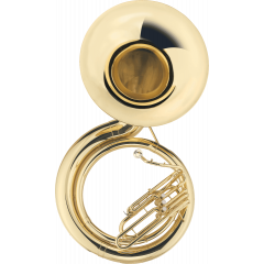 Jupiter Sousaphone Sib laiton verni JSP1110 - Vue 1