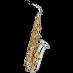 Jupiter Saxophone alto professionnel plaqué argent JAS1100SGQ - Vue 1
