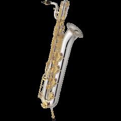 Jupiter Saxophone baryton professionnel plaqué argent - Vue 1