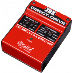 Tonebone DI simulateur d'ampli 3 modes - Vue 1