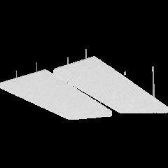 Primacoustic 2 panneaux absorbeur plafond gris - Vue 1