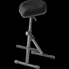 K&M 14046 Siège à ressort pneumatique ergonomique tissu - Vue 1