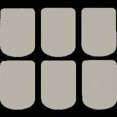 Bg Protège-becs petits transparents 0,9 mm (6 pcs) - Vue 1