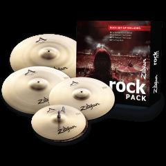 """Zildjian Pack A Rock 14""""-17""""-19""""-20"""" - Vue 1"""