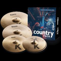 """Zildjian Pack K Country 15""""-17""""-19""""-20"""" - Vue 1"""