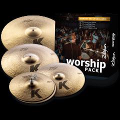 "Zildjian Pack K Custom Worship 14""-16""-18""-20"" - Vue 1"