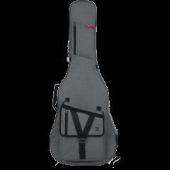 Gator GT-ACOUSTIC-GRY nylon guitare acoustique grise - Vue 1