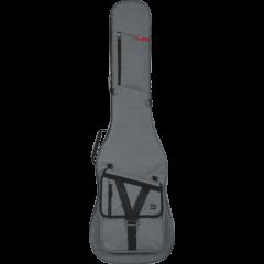 Gator GT-BASS-GRY nylon basse électrique grise - Vue 1