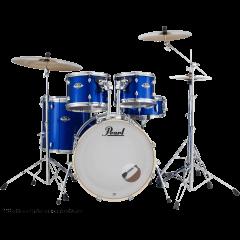"Pearl Export rock 22"" High Voltage Blue - Vue 1"