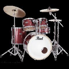 Pearl Export Rock 22 Black Cherry Glitter - Vue 1