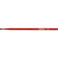 Nova By Vic Firth 5A rouge nylon - Vue 1