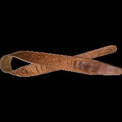 Takamine STRAP-BR brown - Vue 1
